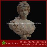 Indoor Marble Roman Woman Bust