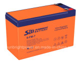 High Quality Rechargeable UPS 12V7ah Lead Acid Battery with CE UL Approval