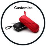 Custom Logo Wood Leather Sunglasses Case