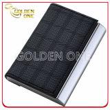 Luxury Tartan Pattern Design Leather Business Card Case