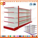 Wholesale Double Sided Gondola Shelving Supermarket Store Display Shelf (Zhs103)