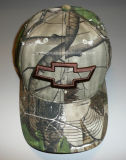 Camo Baseball Cap with Custom Embroidery