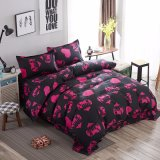 2017 New Design Cheap Microfiber Fabric Home Textile Bedding Set