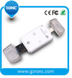 All in One USB Card Reader for Andriod & iPhone Phone