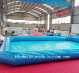 Inflatable Pool with Square Shape