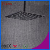 Fyeer 12 Inch Black Top Shower Square Black Shower Head