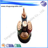 Flame Retardant XLPE Insulation PVC Sheath Steel Tape Armor Electrical Power Cable