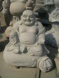 China Granite Top Carving Buddha Sculpture