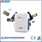 Portable Universal Power Adapter 4 USB Charger for Mobile Phone
