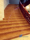 Beige Stone Riser and Tread for Indoor Decoration