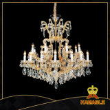 Hotel Project Lobby Crystal Chandelier Light (MD6054B-16+8+1)