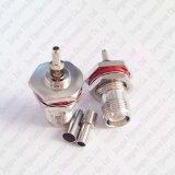 RP-TNC Jack (Male) Bulkhead O-Ring Crimp LMR100 Rg316 Rg174 Cable Connector