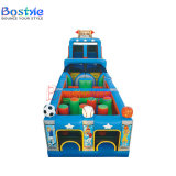Football Deisgn Inflatable Obstacle Course, Adult Obstacle Games