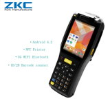 Zkc3505 3G WiFi NFC/RFID GPRS Scangle Handheld Rugged PDA with Built-in Printer