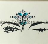 Jewelry Eye Shadow Sticker Party Eye Makeup Self-Adhesive Rhinestone Eye Sticker (S015)