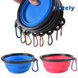 Outdoor and Home Use Camping Collapsible Silicone Pet Bowl