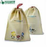 Eco Nonwoven Drawstring Non-Woven String Pouch Bag From One Side