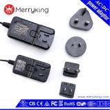 Us UK Au EU Jp Kr Plug 5V 10V 12V AC DC Power Adapter