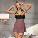 in Stock Manufacture Plus Size Mad About Mauve Chemise