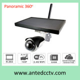 DIY Solar CCTV Camera WiFi Wireless IP Outdoor 360 Panoramic