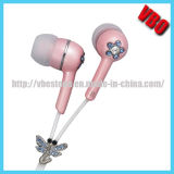 Attractive Crystal Earphone Headphone for Music (10A2413J)