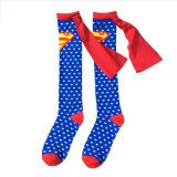 Kids Supermen Knee-High Socks Stockings (KA804)