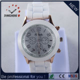 Fashion Wristwatch Geneva Quartz Watch Silicone Watches (DC-801)