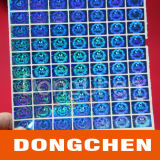 Custom 3D Hologram Laser Texture Anti-Fake Sticky Label