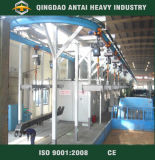 Continuous Mix Overhead Chain Shot Blasting Cleaning Machine