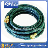 Best Quality PVC Reinforced Flexible Garden Hose with Brass Fitting