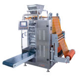Granule Filling Machine with Four Side Sealing Pouch and Ss316