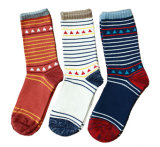 Women′s Cotton Crew Socks (WA033)