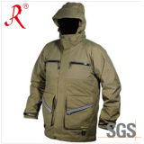 Waterproof and Breathable Jacket of Men for Winter (QF-973)