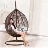 Good Quality Balcony Outdoor Hanging Chair Weaving Patio Swing Wicker Furniture D011A