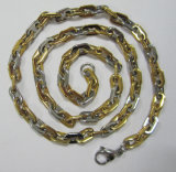 China Wholesale Fashion Gold Plated 316L Stainless Steel Jewelry Chain for Men