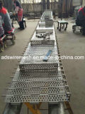 Plate Belt for Metal Treatment and Food Processing