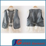 Wholesale Kids Jean Vest for Girl (JT5012)
