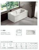 Two Skirt Built-in Bathtub (BL-1003)