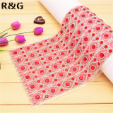 Colorful Red Rhinestone Glass Mesh Jewelry Fabric Trimming Rgj-043