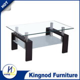 Modern Wooden Glass Coffee Table, Tea Table