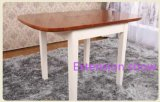 Extendable Modern Solid Wood Furniture Dining Table and Chairs