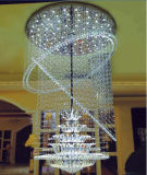 Modern Decorative K9 Crystal Chandelier with LED for Hotel Project