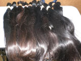 20inch Natural Color Brazilian 100% Human Hair Grade 5A, Virgin Hair