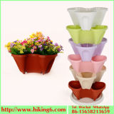 Stereo Flower Pot, Stackable Flower Pot