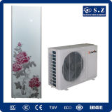 CE TUV En14511 Home Using 220V Tankless 3kw, 5kw, 7kw, 9kw R410A, Cop4.2 Max 60deg. C Split Domestic Air to Water Heat Pump Tankless