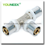 Brass Press Fittings for Pex-Al-Pex Pipe