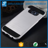 Wholesale Brush Satin Mobile Phone Cover for Samsung Galaxy S6edge