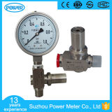 10bar Stainless Steel Bourdon Pressure Gauge with Over Pressure Protector