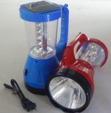 Solar LED Camping Lantern Lamp Light From ISO9001 Factory