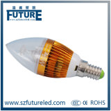 3W LED Candle Lamp with CE RoHS Certificate